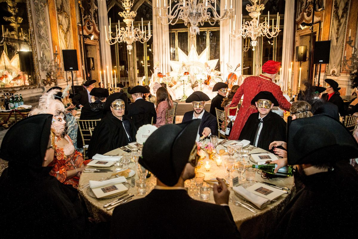 An Incredible Masquerade Ball in Venice