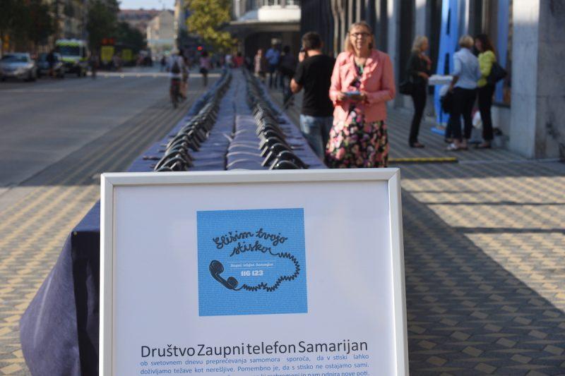 Odmeven humanitarni projekt Samarijan v središču Ljubljane